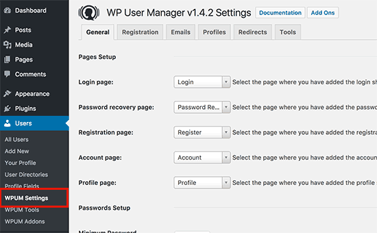 Adding Custom Author Profile Page to WordPress WP User Manger