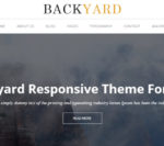 Backyard – A Stunning Free WordPress Theme by Y Design Services
