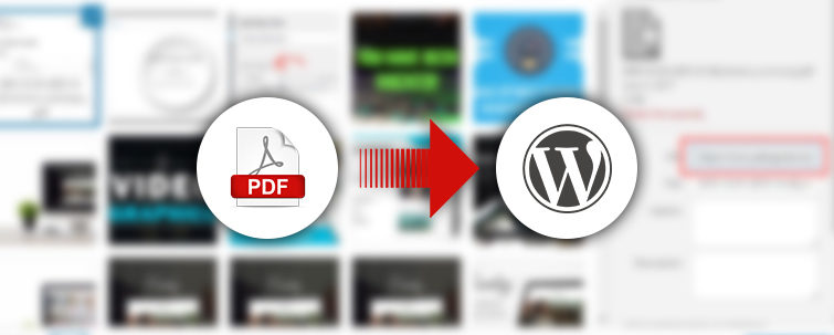 Upload PDF Files to WordPress